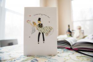 הזמנה לחתונה קונספט עיצובי
