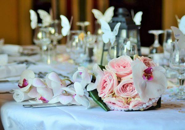 עיצובי שולחנות לחתונה